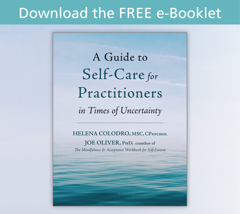 Download the Free e-Booklet: A Guide to Self-Care