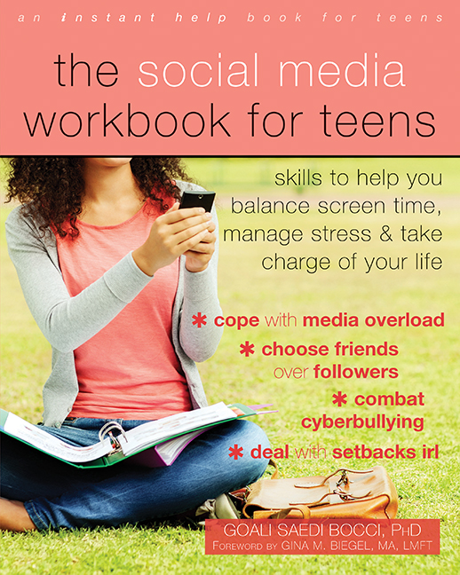 the social media workbook for teens cover