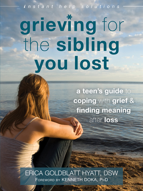 grieving for the sibling you lost cover
