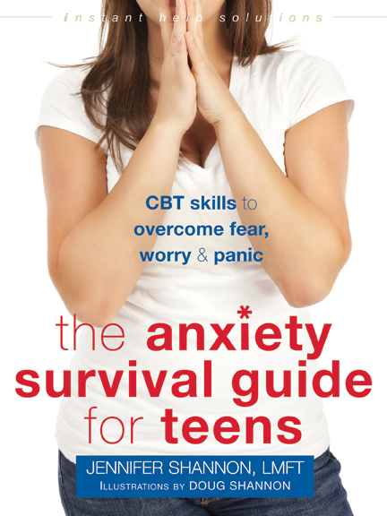 The Anxiety Survival Guide for Teens Cover