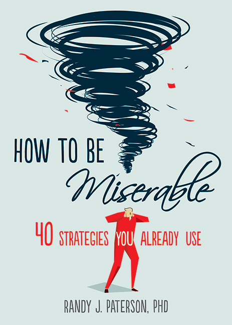 How to Be Miserable Book Cover