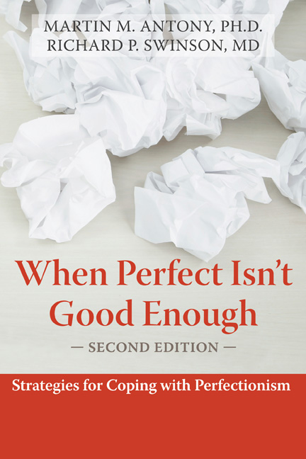 When Perfect Isn't Good Enough Book Cover