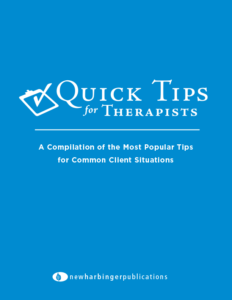 Quick Tips for Therapists: The Most Popular Tips Cover