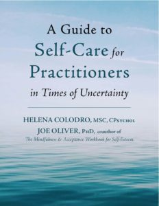 Guide to Self-Care for Practitioners cover