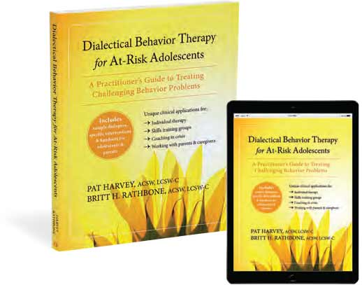 Dialectical Behavior Therapy for At-Risk Adolescents book cover image