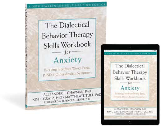 The Dialectical Behavior Therapy Skills Workbook for Anxiety book cover image