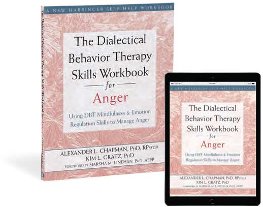 The Dialectical Behavior Therapy Skills Workbook for Anger book cover image