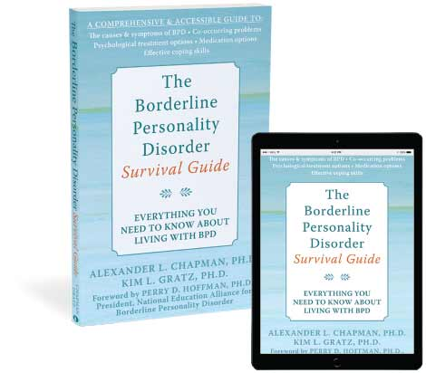 The Borderline Personality Disorder Survival Guide book cover image