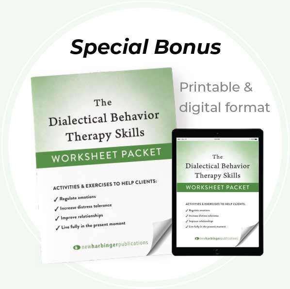 Special Bonus - image of Worksheet Packet in printable digital format