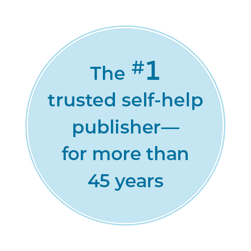 The #1 trusted self-help publisher—for more than 45 years